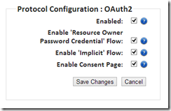 OAuth config