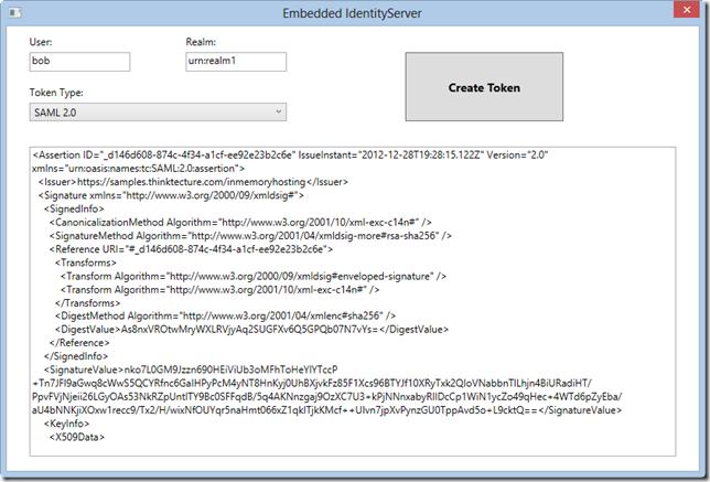 Embedding Thinktecture IdentityServer in your own Applications (1/2)